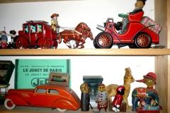 Collection de jouets anciens