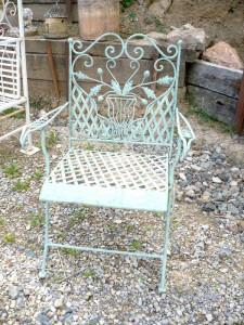 fauteuil en fer