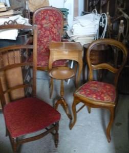 Divers meubles et sièges