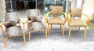 fauteuils vintages