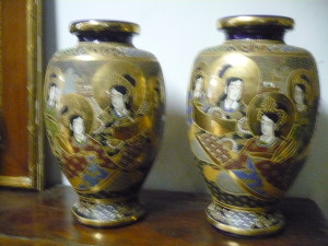 deux vases de Canton